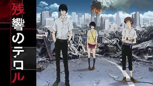 面白そうなアニメを調べて、最近見始めたアニメ「残響のテロル」高校生がテロリストという設定で、なかなか面白い。