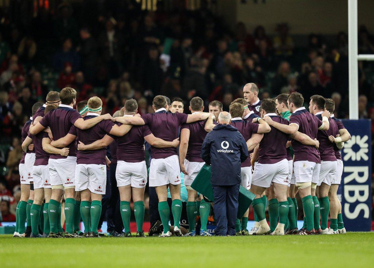 Here...we....go, C'mon Ireland! 🇮🇪🇮🇪 #ForVictory #WALvIRE https://t.co/ziOTESXyZx