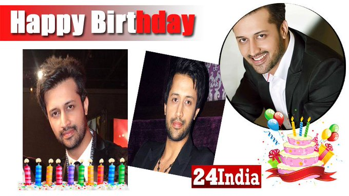 Happy Birthday to Pakistani singer Atif Aslam -