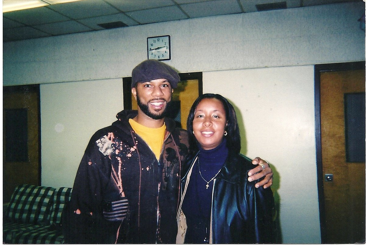 Happy Birthday Common and enjoy your day with many blessings. Pic circa early 2000\s