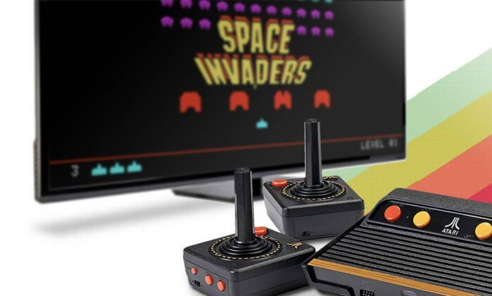 Relançamento do Atari faz sucesso, mas jogos clássicos ficam de fora.