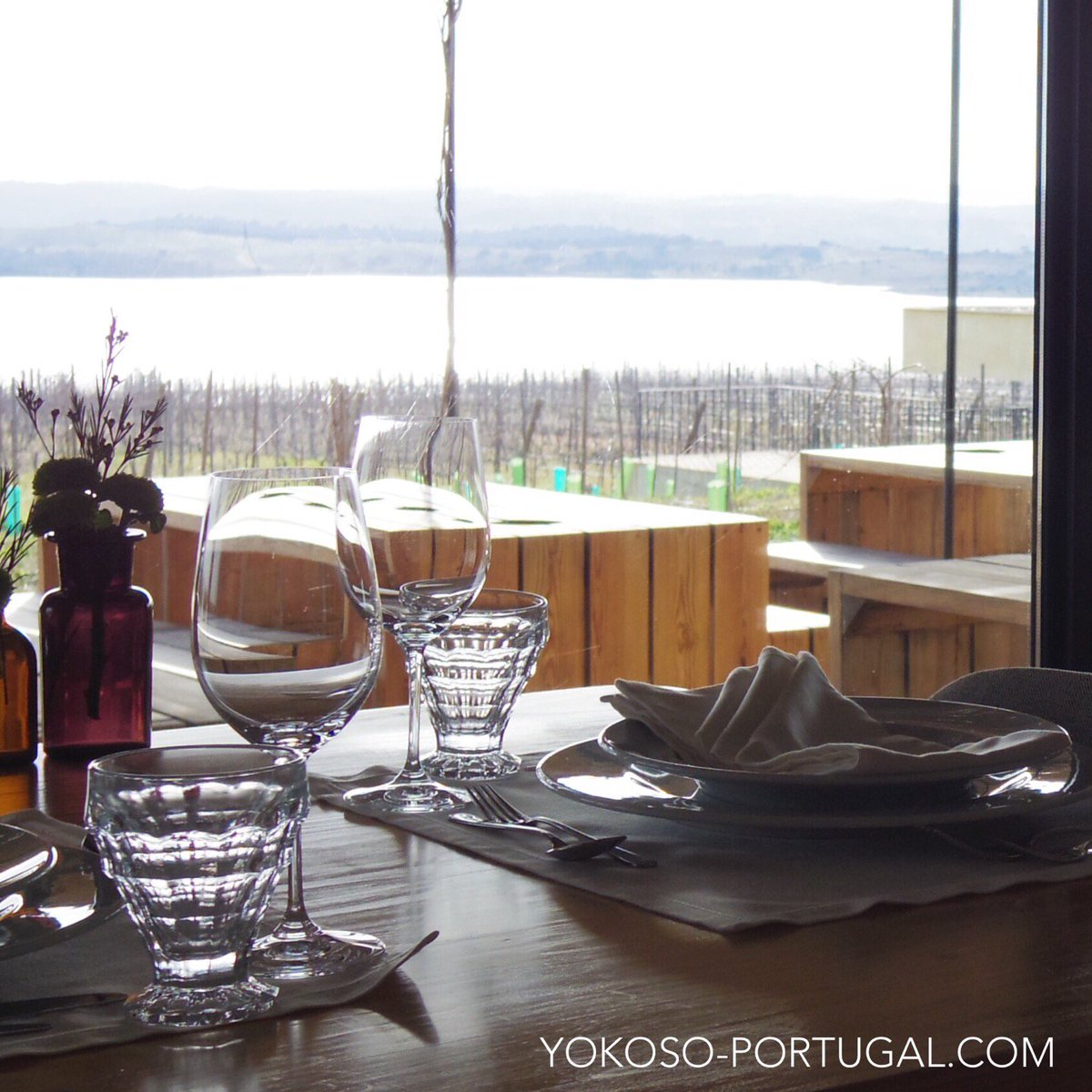 test ツイッターメディア - ワイナリー併設の眺めの良いレストラン。敷地内でとれたオーガニック野菜とおいしいワインがいただけます。リスボンからは世界遺産のエヴォラと、かわいいらしい村モンサラーシュを組み合わせた... https://t.co/NncilmYC7p https://t.co/LnuFK72Ick