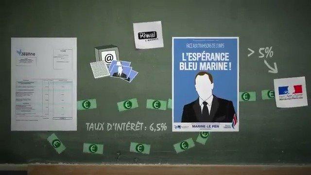 Le kit de campagne Riwal du micro-parti Jeanne, comment ça marche ? #FN #EnvoyeSpecial