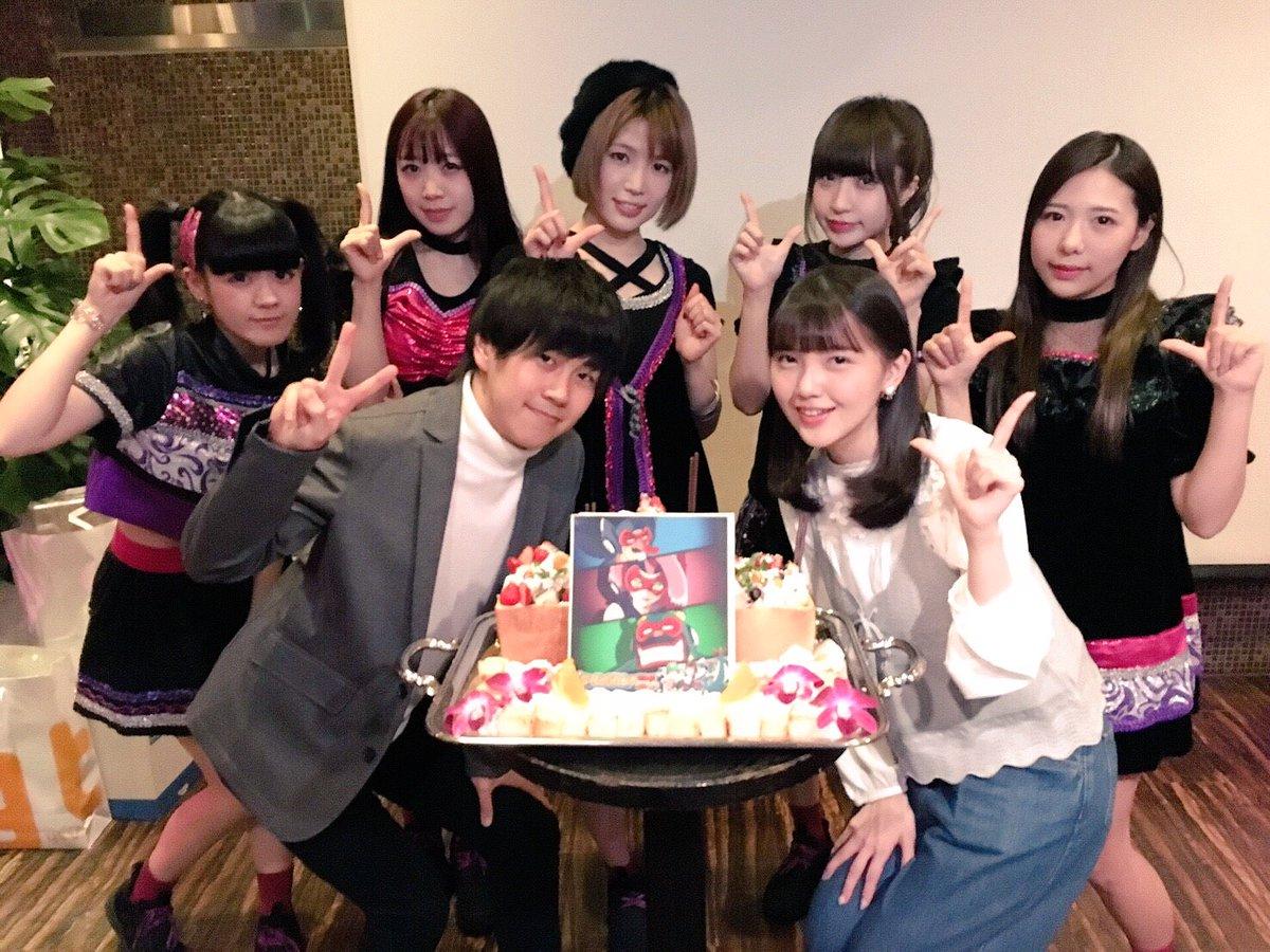 今日は #タイムボカン24 が最終回ということでタイムボカン24の打ち上げに参加してきました📺💓トキオ役の若山晃久さん、