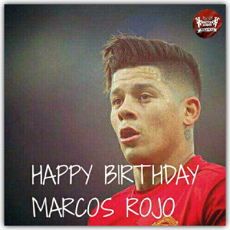 Happy Birthday The Banana Man, Marcos Rojo