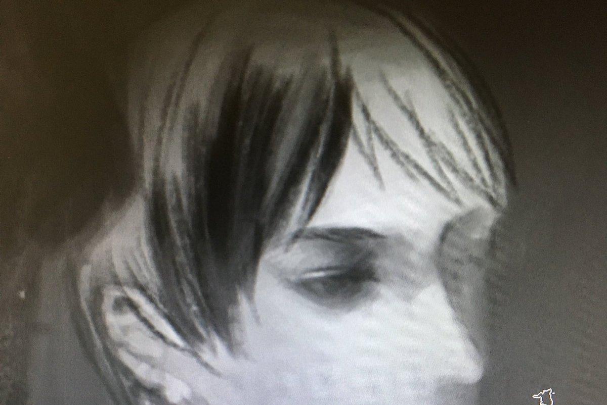 ………なんだこの美青年。いや違くて…描かないといけないのは美青年じゃない……