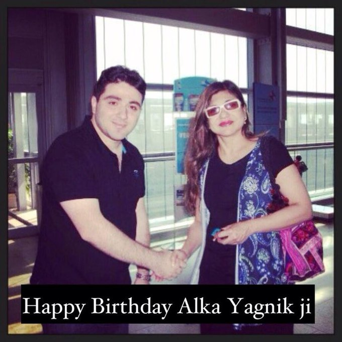 Happy Bday to the queen of melody Alka Yagnik ji , god bless you always