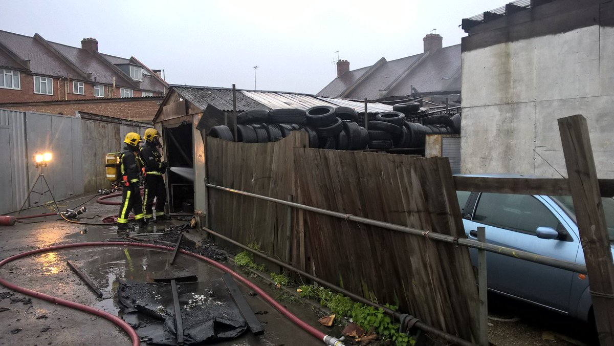 30 firefighters tackled #Neasden car workshop blaze that closed part of the A406 #ThisWeek https://t.co/Vw78XSm5uF
