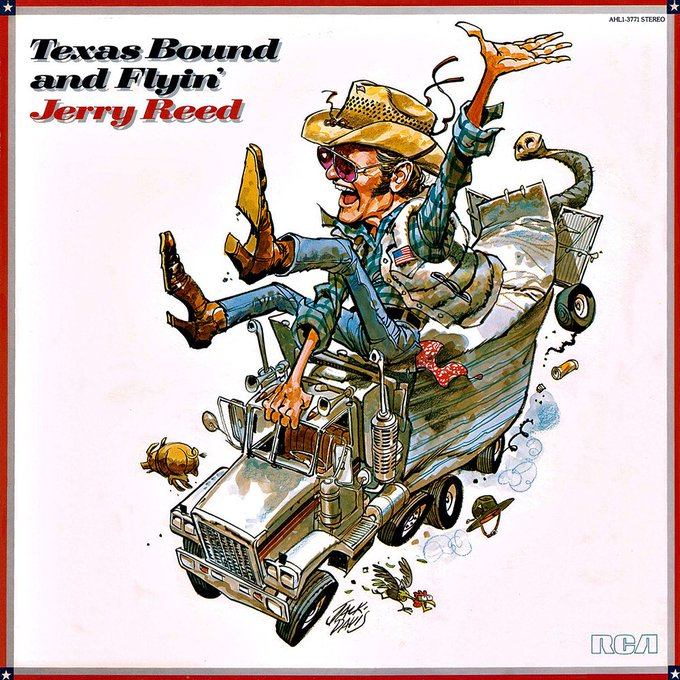 Happy Birthday! Jerry Reed!! March 20, 1937