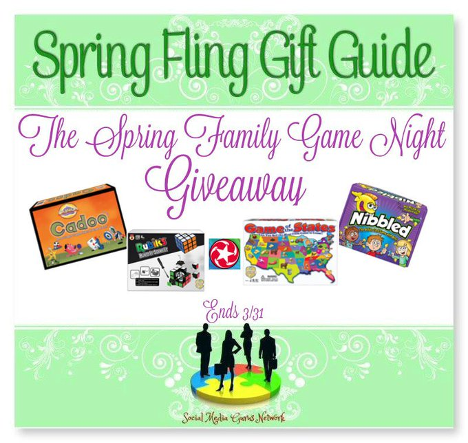 The Spring Fling Family #GameNight #Giveaway Ends 3/31 #SMGN