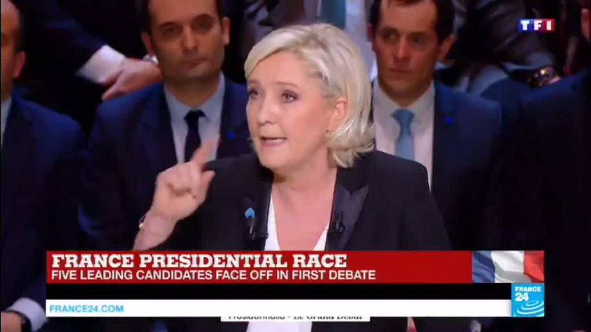 VIDEO -  Marine Le Pen: 'I want to put a stop to legal and illegal immigration'