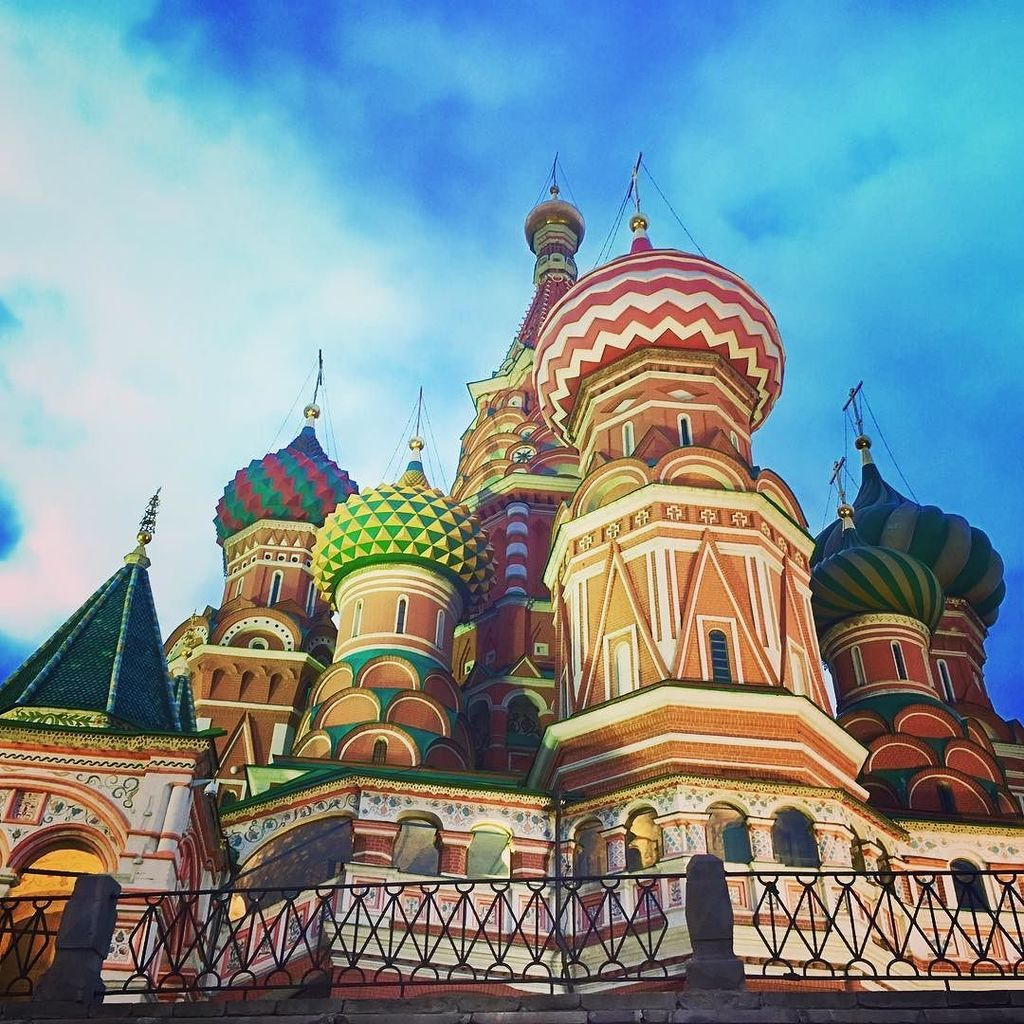 The Cathedral of the Intercession of the Most Holy Theotokos on the Moat