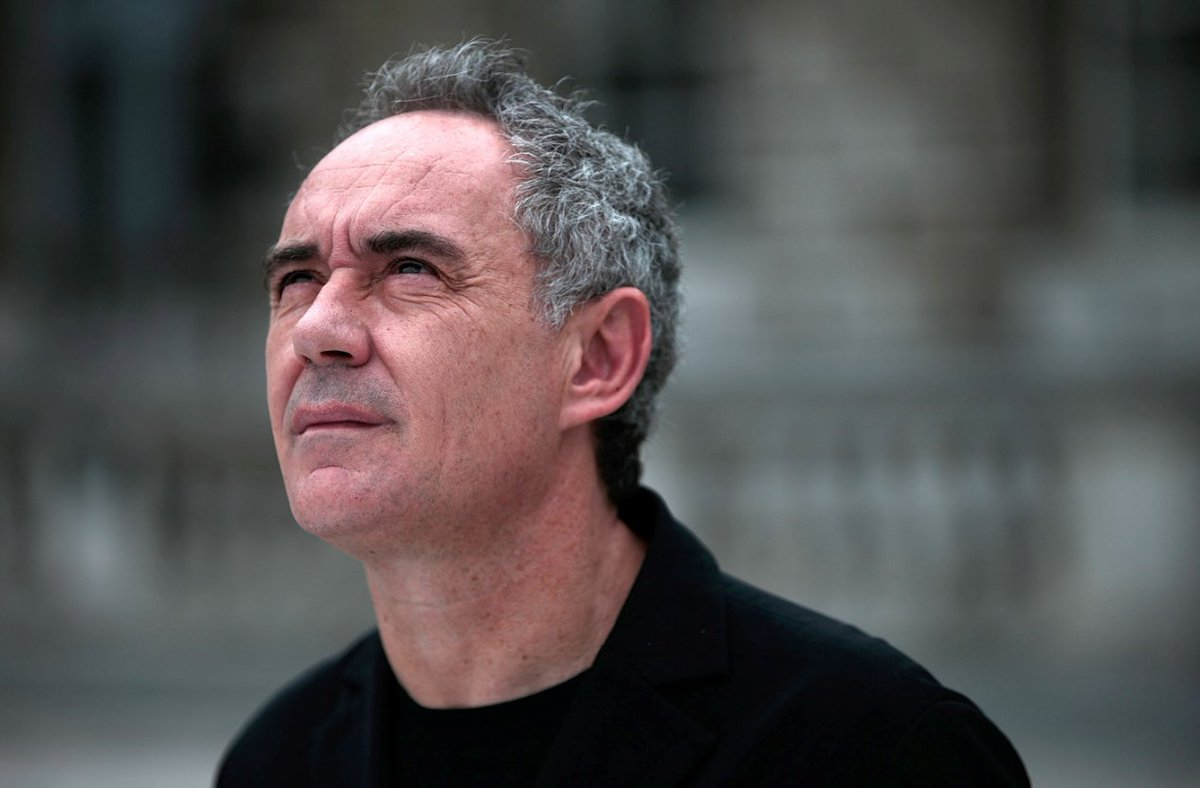 Una huelga de actores de doblaje deja incomunicado a Ferran Adrià