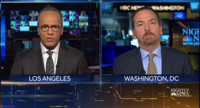 .@chucktodd joins @LesterHoltNBC now on @NBCNightlyNews with analysis of what's next for the delayed GOP health care bill vote.