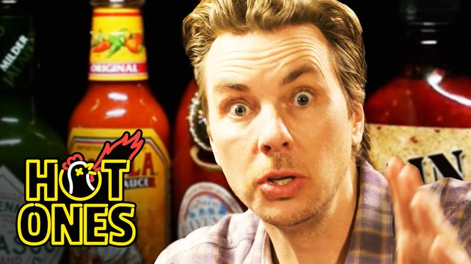 Watch @daxshepard1 share unexpected stories about @IMKristenBell on the new #HotOnes challenge: https://t.co/8wKZWGZgHq