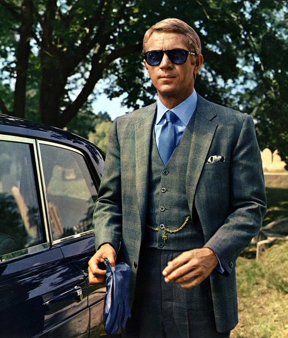 Happy birthday to the late great Steve McQueen. A true icon!