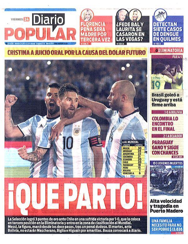 diarios diario popular cr nica de hoy