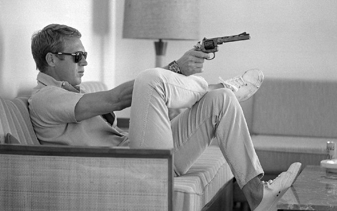 A happy birthday to Steve McQueen, a true icon of cinema, who sadly passed away at the age of 50 back in 1980.