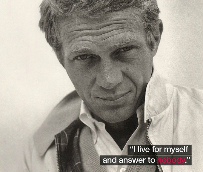 Happy birthday to the late, great Steve McQueen!
