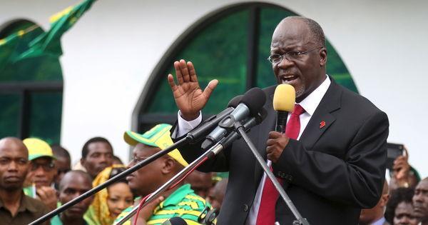 Le président de la Tanzanie fait fi de la liberté de la presse https://t.co/9zi3l1osDt
