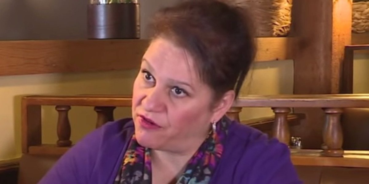 Indiana woman who voted for @realdonaldtrump stunned. Her husband is being deported