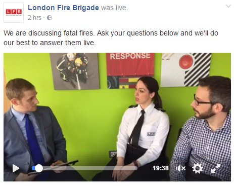 If you missed our #FacebookLive chat on fatal fires then catch up now https://t.co/0ymtZOcyyQ