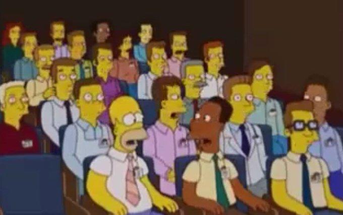 Série americana 'Os Simpsons' 'previu' impacto da terceirização.  https://t.co/IiyjKDWpzI [@RadiodoMoreno]
