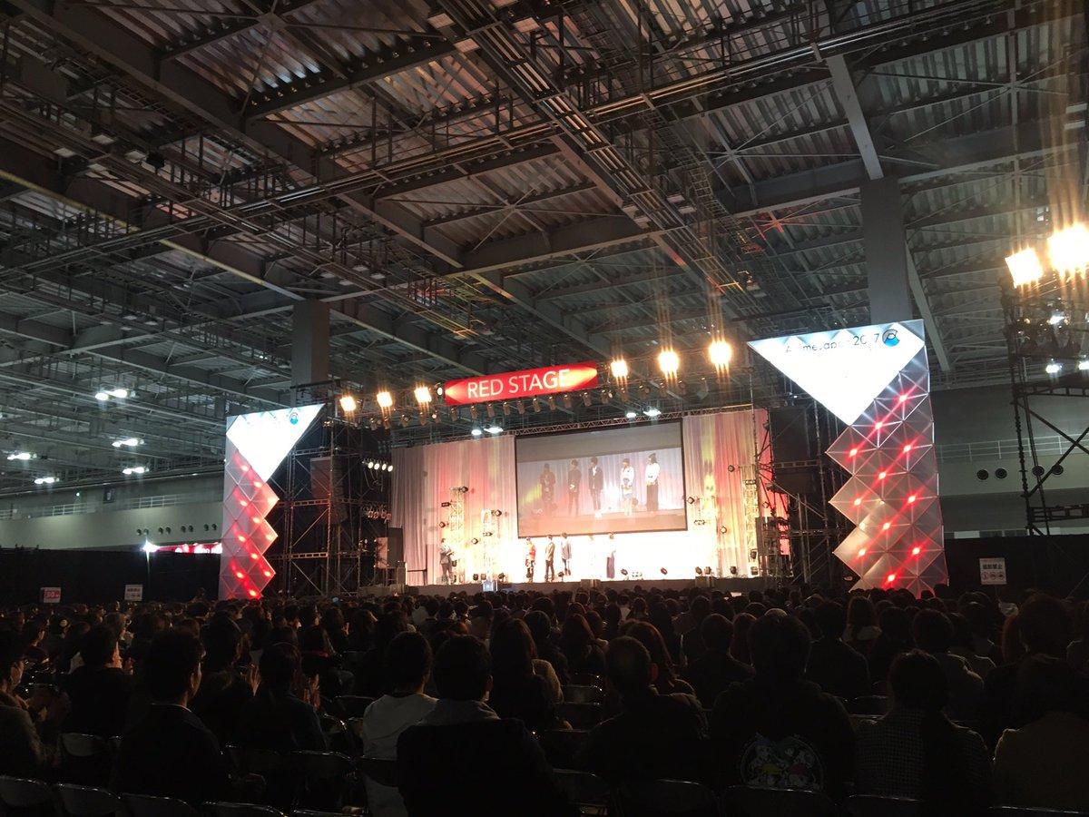 AnimeJapan2017タイガーマスクWスペシャルステージスタートしました!!! #animejapan