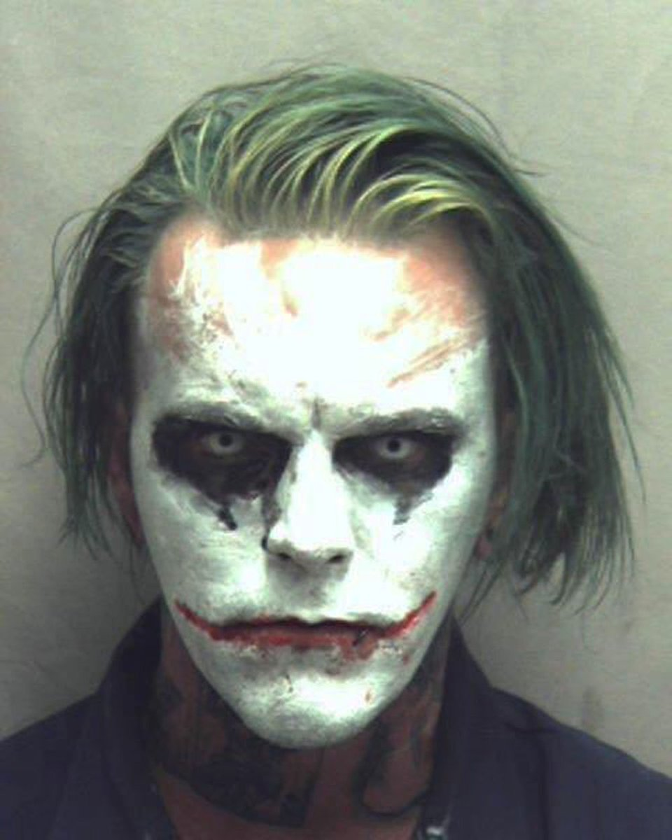 Sword-carrying Joker arrested in Virginia, police say https://t.co/kNNAFpOIR6