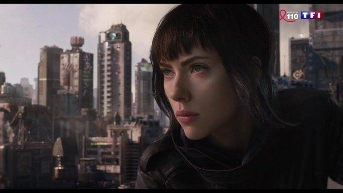 Cinéma : sortie du long-métrage futuriste 'Ghost in the shell' https://t.co/Y71SoNPQ8B