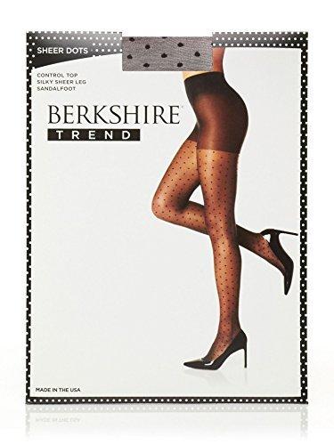 #fashion #free #style #win #giveaway Berkshire Women's Sheer Dots, Fantasy Black, 1X-2X #rt