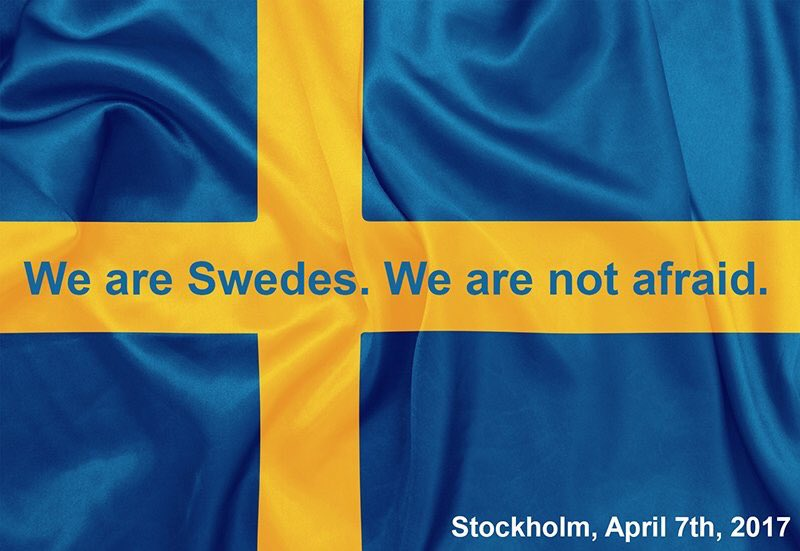 test Twitter Media - RT @SwedishAR: We are Swedish. We are not afraid. #stockholm  #openstockholm  #السويد https://t.co/QRqmOgdFpf