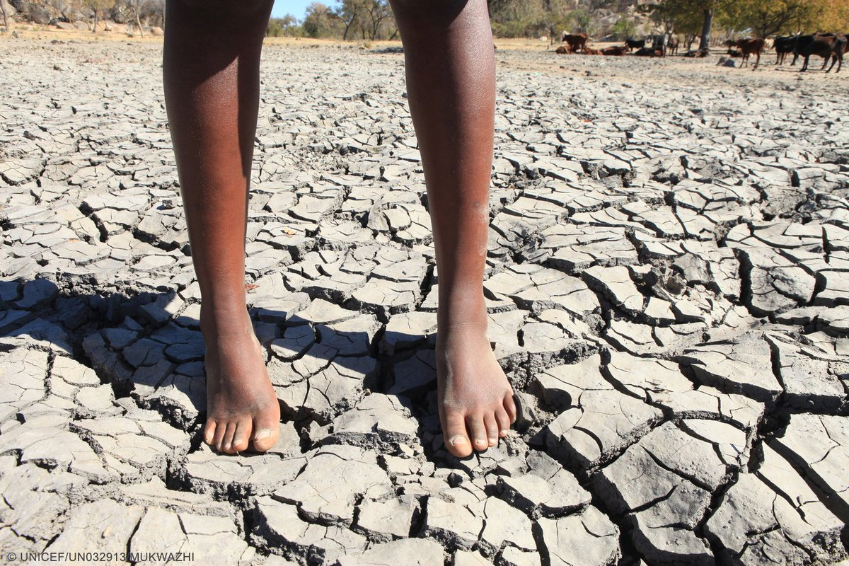 #ClimateChange: 1 in 4 children will be living in areas w/ extremely limited water by 2040 unless we take action NOW https://t.co/GOQLmnYuai