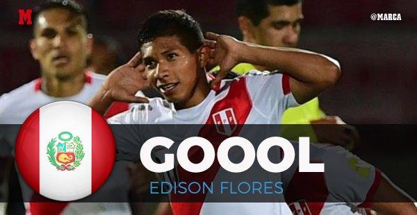 EN DIRECTO | ¡Gol de Edison Flores! Perú 2-1 Uruguay https://t.co/ywvgDJLI9f #Rusia2018