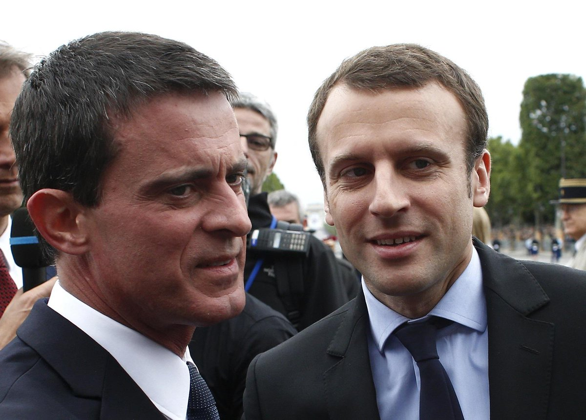 LIVE PRÉSIDENTIEL - Manuel Valls votera Emmanuel Macron : 'Je prends mes responsabilités' https://t.co/Hj4ZhedsWU