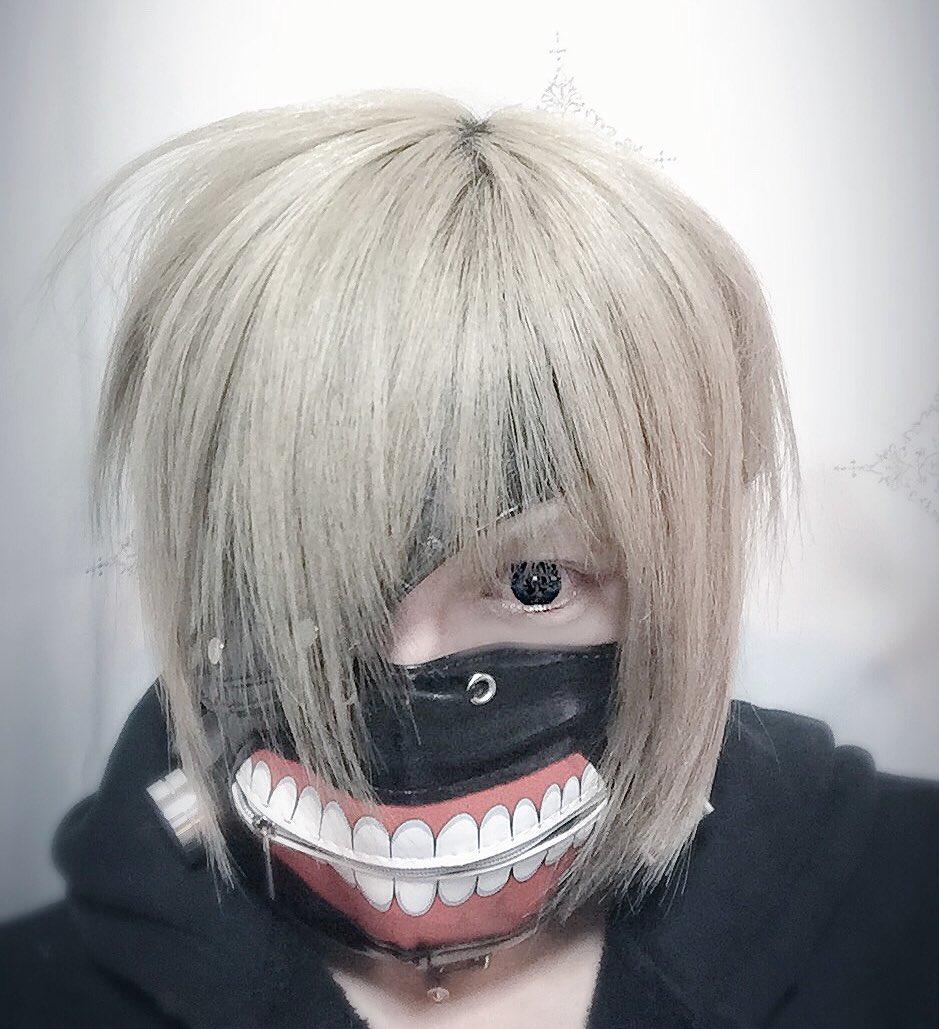 これとっても欲しかったマスク…😷✨付けたまま生活してみようかと思ったけど息苦しくて無理でした😷テンション上がる😷鼻の紐ひ