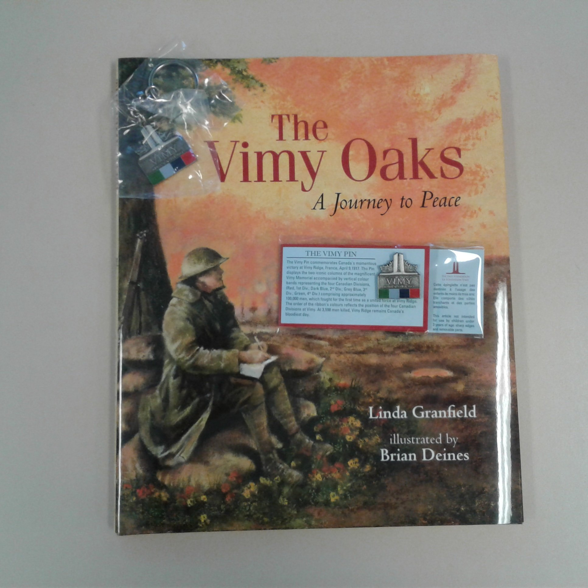 Congratulations to yesterday's  contest winner A.pasky who participated through Instagram and wins a Vimy pin, keychain and Vimy Oaks book https://t.co/0bqesTYZQO