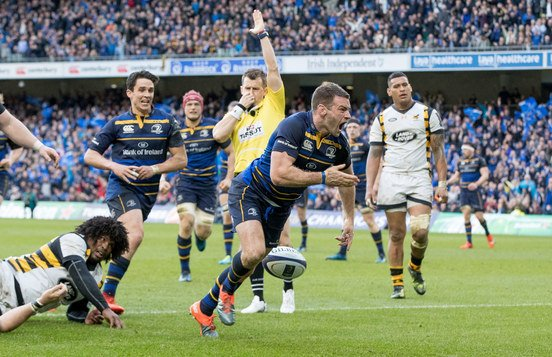 What a finish @leinsterrugby! One step closer to that fourth star. #FuelThe4th https://t.co/ehlosMDbKd