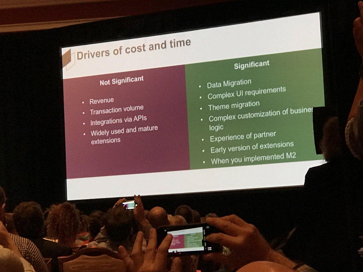 wearejh: Key drivers of cost for Magento 2 implementations #MagentoImagine https://t.co/z5jwzMOCvP