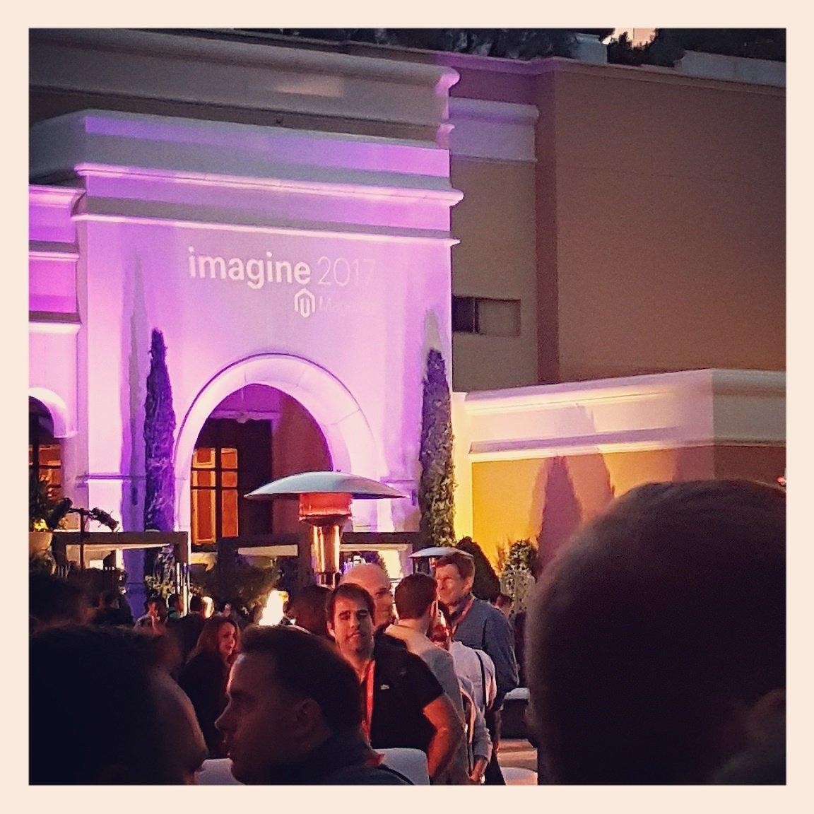 D_n_D: [Magento Imagine] Let's party! #Magentoimagine #Magento https://t.co/HFDkcoUBIg