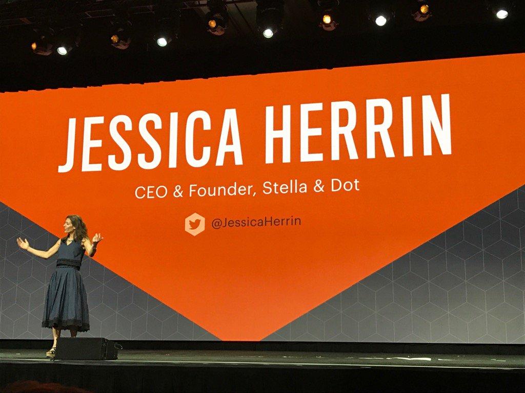 brentwpeterson: On stage @JessicaHerrin #Magentoimagine https://t.co/alDyQSpFdd