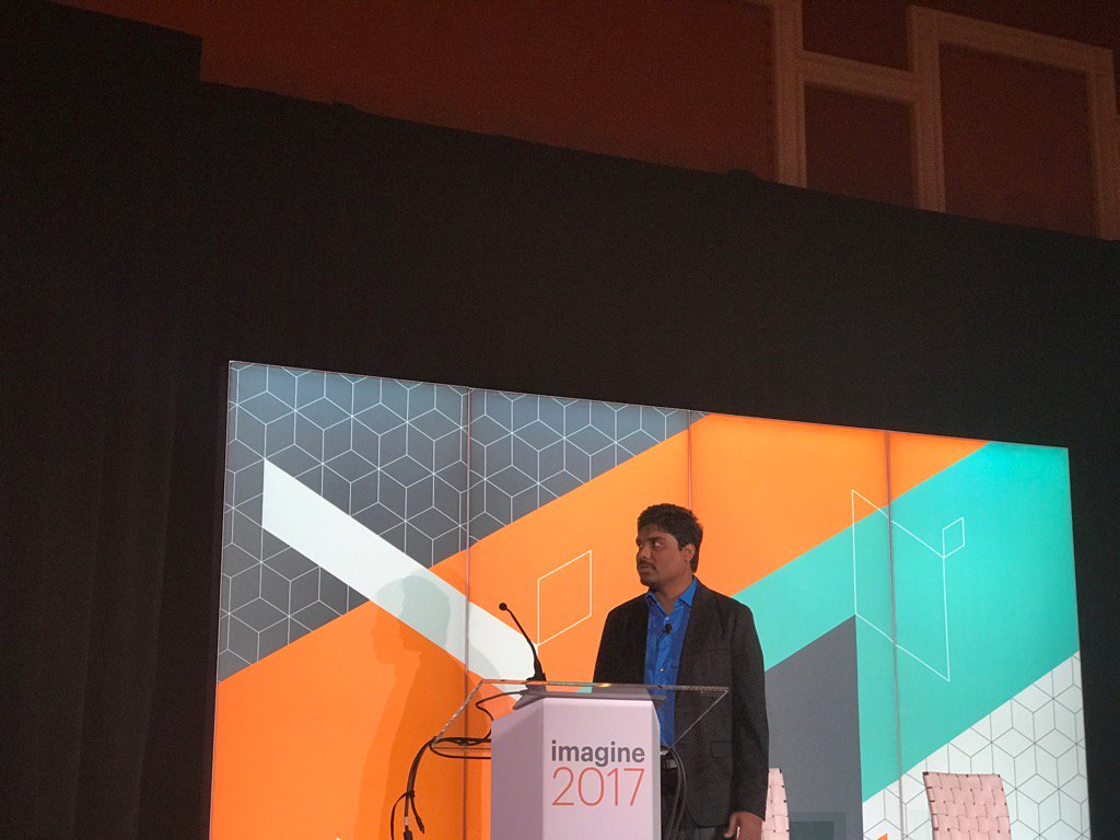 DCKAP: @nmohanswe presenting at #Magentoimagine B2B session https://t.co/a1FEbCqy5G