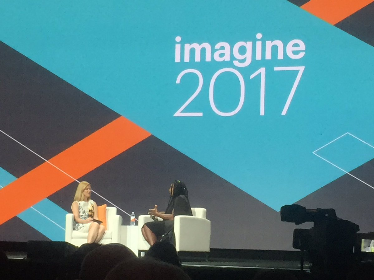 "Falkowski: ""If I were a male athlete I would be dominating too."" ~ @serenawilliams #Magentoimagine https://t.co/xTHnZLDhQj"