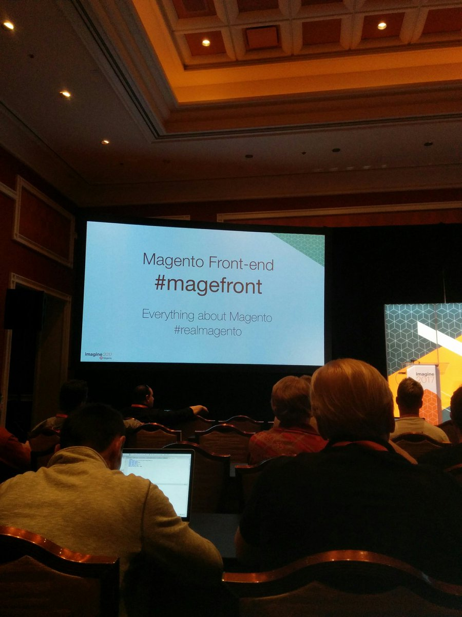 iamspringerin: @nuovecode get ready to use this hashtag as much as possible :) #magefront #Magentoimagine https://t.co/PHkv5hgMKy