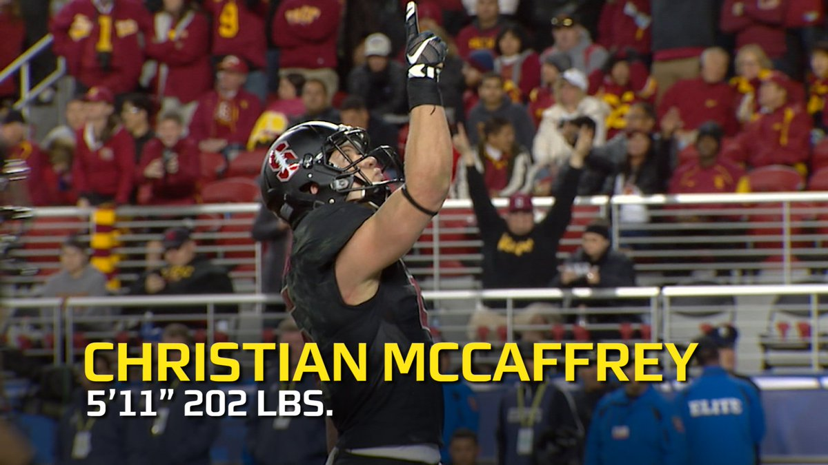 """""""Pound for pound the best college football player in the country""""🎥 @Pac12Network"""