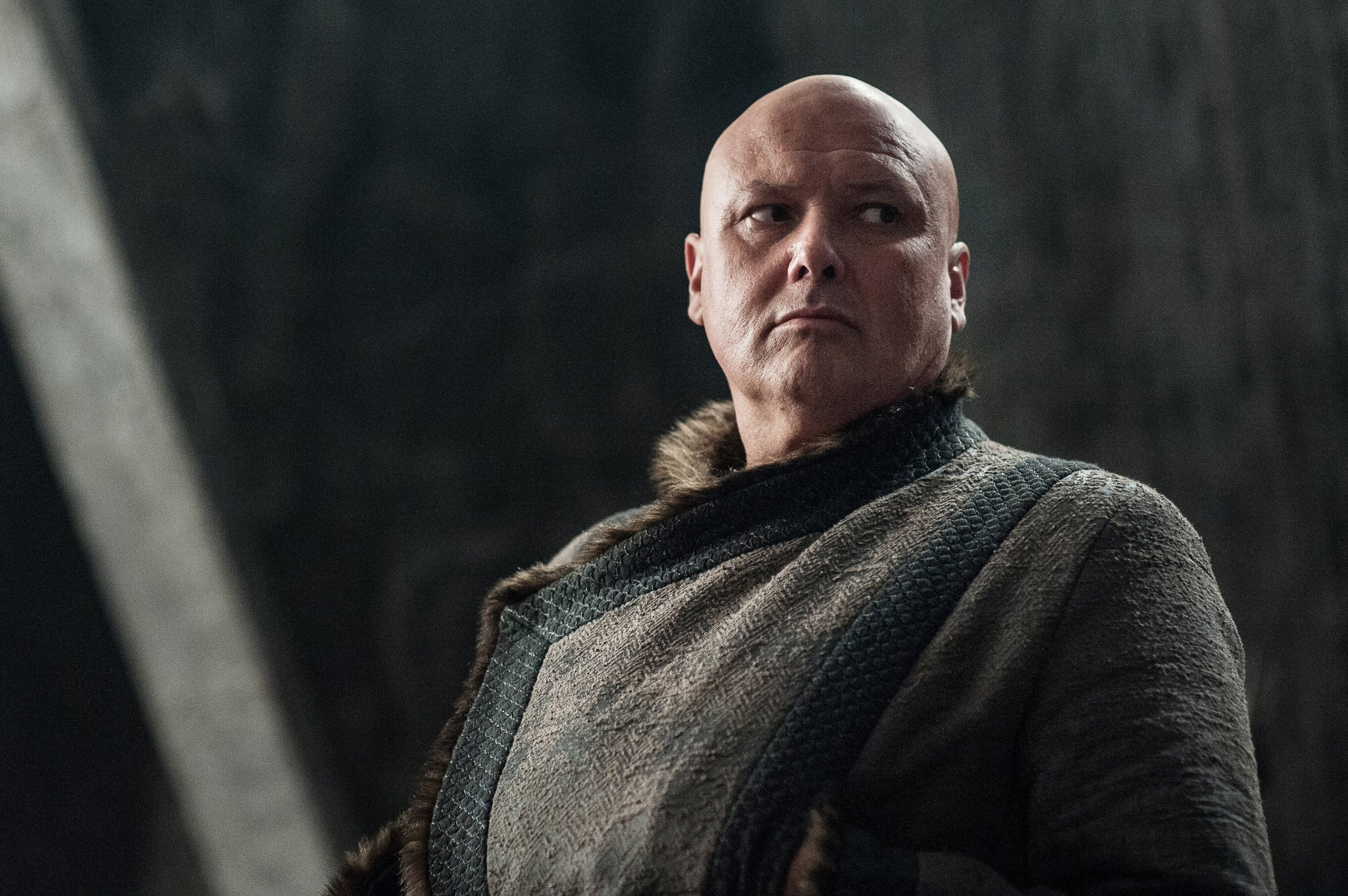 Conleth Hill as Varys. #GoTS7 #GameofThrones (Photo Helen: Sloan/HBO) https://t.co/uxkrYcK5me