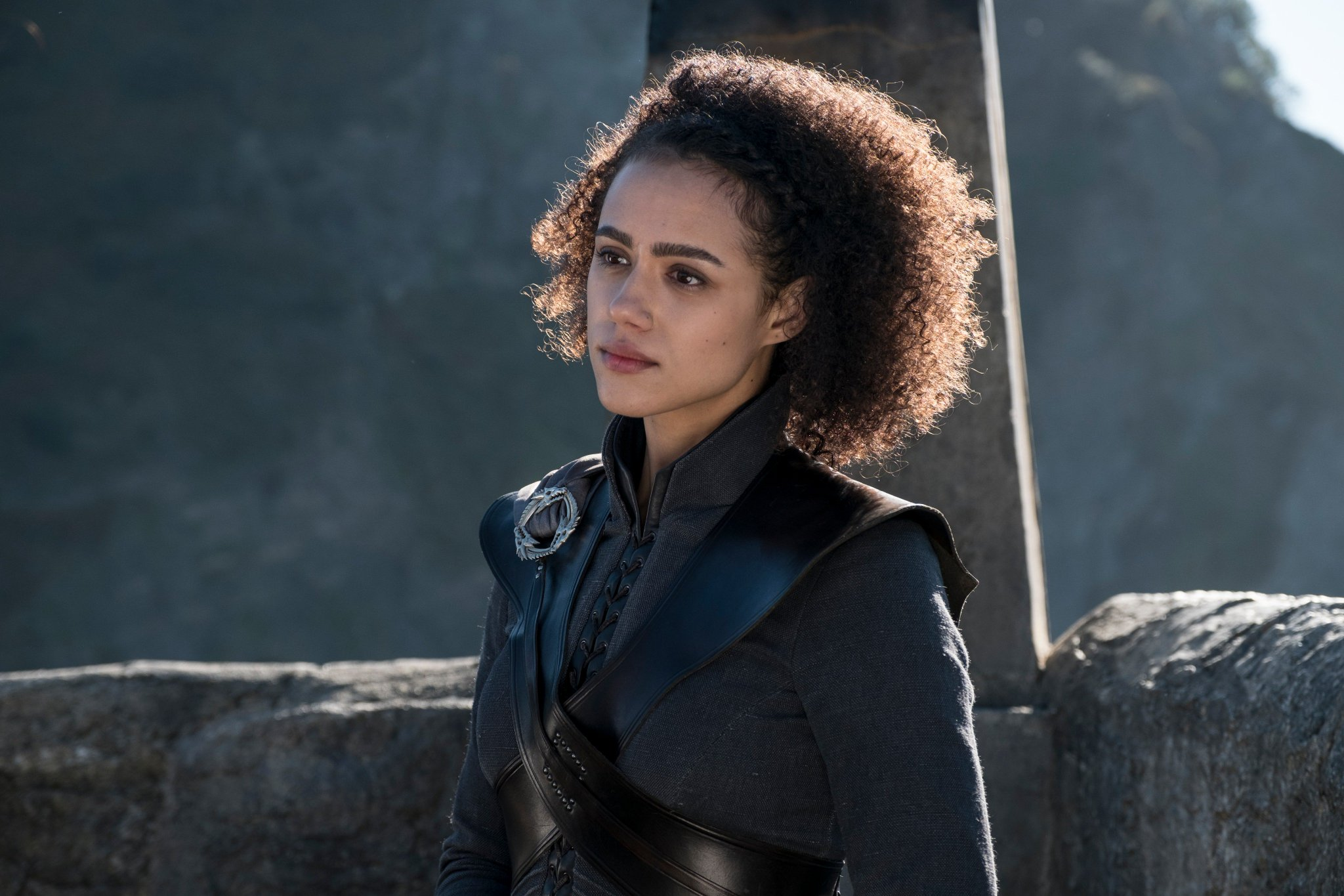 .@missnemmanuel as Missandei. #GoTS7 #GameofThrones (Photo: Macall B. Polay/HBO) https://t.co/4ddw4rreRf