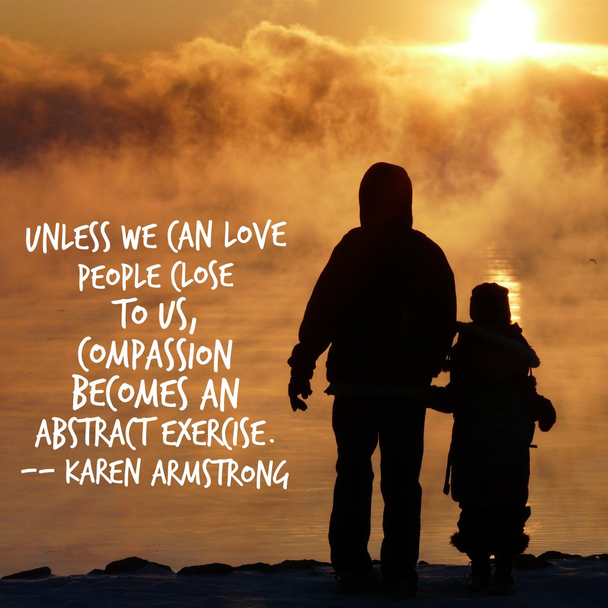Words of wisdom from our dear friend, Karen Armstrong. @FestofFaiths #CompassionShining https://t.co/MKM6laCOXP