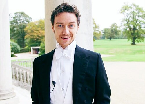 Happy Birthday, James McAvoy - - - -