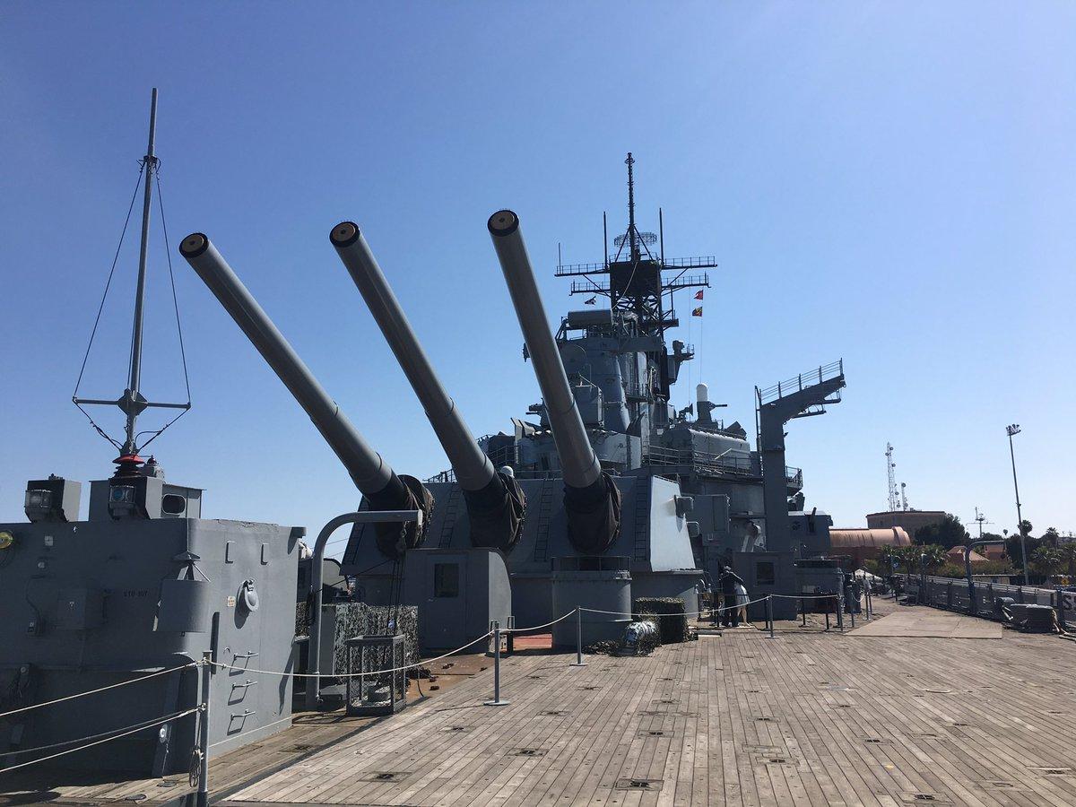 1 pic. Look where I been today! Finally saw the WWII Battleship USS IOWA gOHwJDNyTI